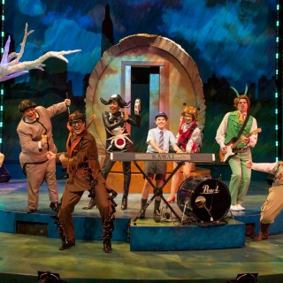 Imagination Stage's James and the Giant Peach: Adaptation evokes '60s & James Bond
