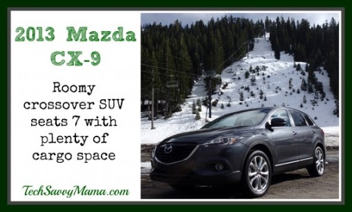 2013 Mazda CX-9 Review TechSavvyMama.com