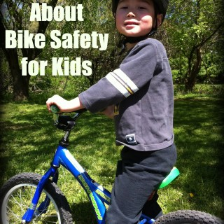 {sponsored} 5 Lessons About Bike Safety for Kids
