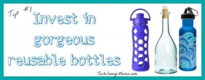 Reusable Water Bottles TechSavvyMama.com