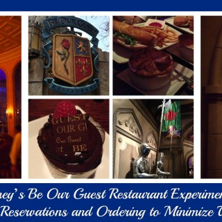 Disney's Be Our Guest Restaurant Experiments with Online Reservations and Ordering to Minimize Wait Times