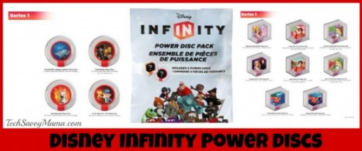 Disney Infinity Power Discs TechSavvyMama.com