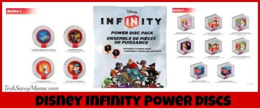 Disney Infinity Power Discs TechSavvyMama.com