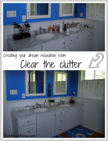 Dream Relaxation Room Clear the Clutter TechSavvyMama.com