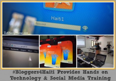 Technology Training with Haitian Artisans #Bloggers4Haiti