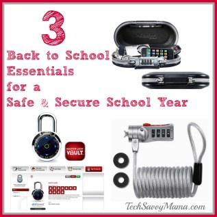 3 Back to School Essentials for a Safe & Secure School Year