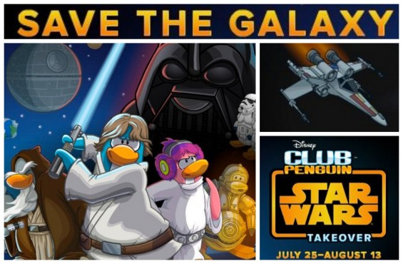 Club Penguin Star Wars