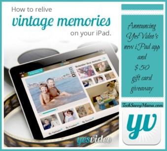 YesVideo iPad App