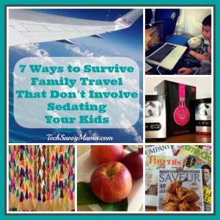 7 Ways to Survive Family Travel Without Sedating Your Kids {sponsored}