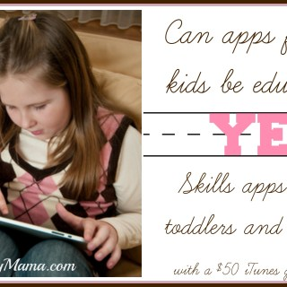 New 5 Little Monkeys App Reinforces Learning for Toddlers and Preschoolers {giveaway}