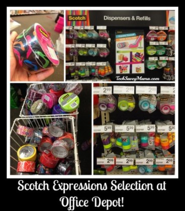 #ScotchExpressions Tape at Office Depot