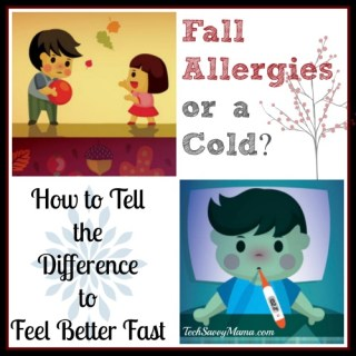 Fall Allergies or a Cold? How to Tell the Difference to Feel Better Fast {sponsored}