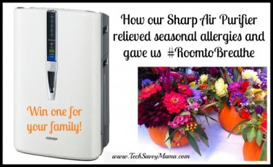 Sharp PCI Air Purifier Giveaway