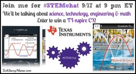 Texas Instruments #STEMchat