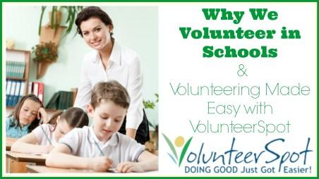 Why We Volunteer in Schools
