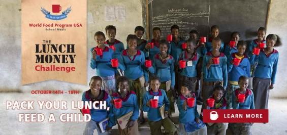 WFP USA Lunch Money Challenge #FeedaDream