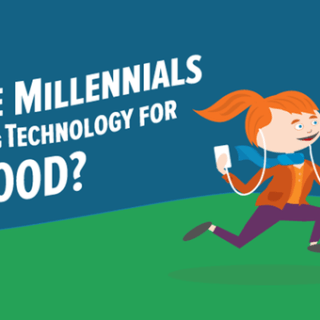 Infograph: Are Millenials Using Technology for Good?