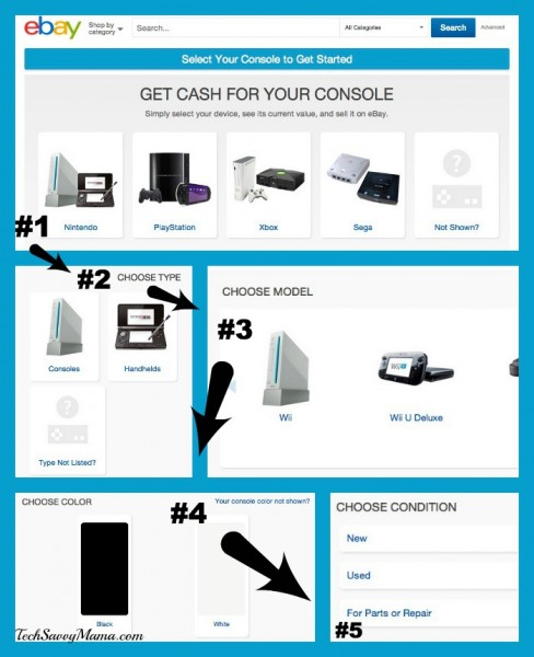 eBay Simple Flow Gaming Console Steps to Selling
