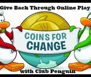 Club Penguin's Coins for Change is Way for Kids to Give Back Through Online Play