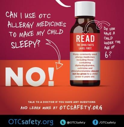 Don't use medicine to sedate
