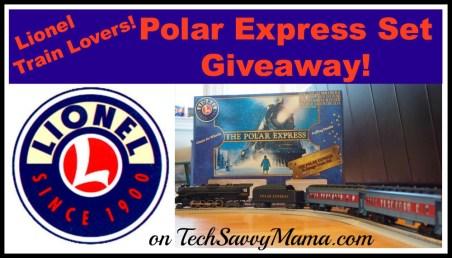Lionel Polar Express Set Giveaway I TechSavvyMama.com