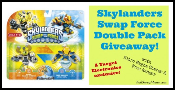 Skylanders Swap Force Target Exclusive Giveaway