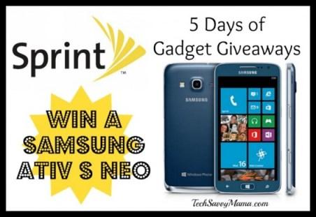 Sprint Samsung ATIV S Neo Giveaway I TechSavvyMama.com