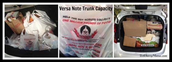 #VersaNote Trunk Capacity