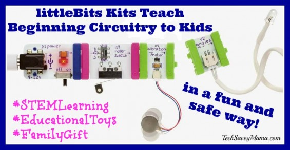 littleBits Beginning Circuitry for Kids