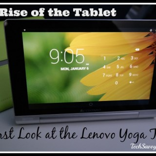 The Rise of the Tablet: First Thoughts About Lenovo Yoga Tablet 8 {sponsored}