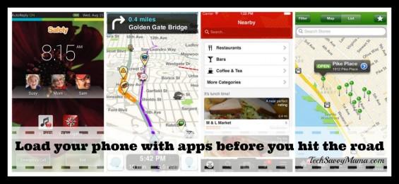 Road Trip Essentials Apps