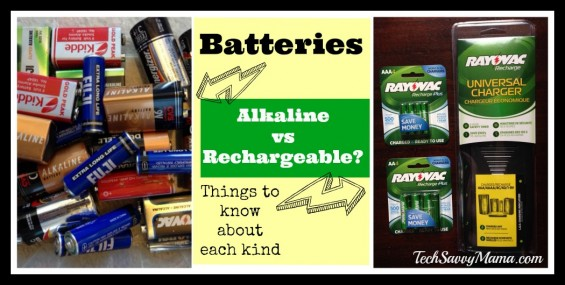 Batteries: Know the Facts About Alkaline vs. Rechargeable