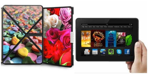 Kindle Fire KDX and Personalized Case
