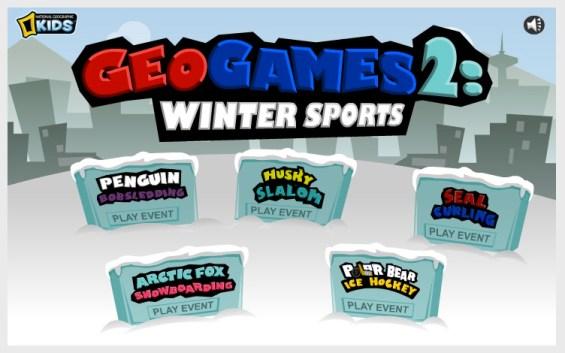 NatGeoKids GeoGames