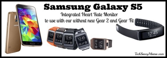 Samsung Galaxy S5 Integrated Heart Monitor