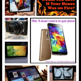 What Piece of Technology Would You Save If Your House Was on Fire? Hint: It doesn't need to be your phone!