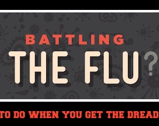 Last Week I Battled the Flu and Won! Tips for Staying Healthy and What to Do When You Get the Flu
