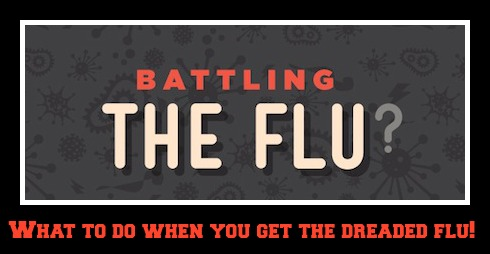 What to do when you get the flu