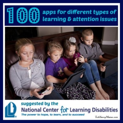 100 apps for different types of learning and attention issues.jpg