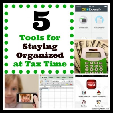 5 Tools for Staying Organized at Tax Time