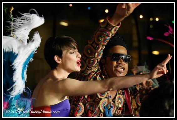 Anne Hathaway Rio 2 premiere party