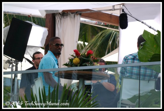 Jamie Foxx Rio 2 premiere weekend
