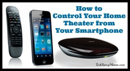 How to Control Your Home Theater from Your Smartphone: Logitech