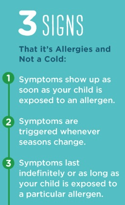 3 signs it's allergies not a cold
