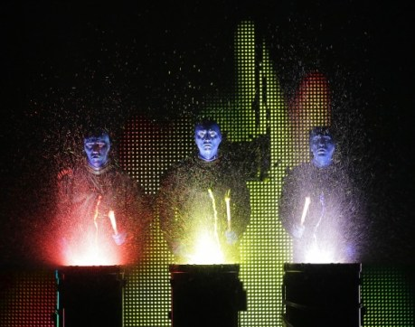 Blue Man Group National Tour Credit photo: ©Paul Kolnik paul@paulkolnik.com
