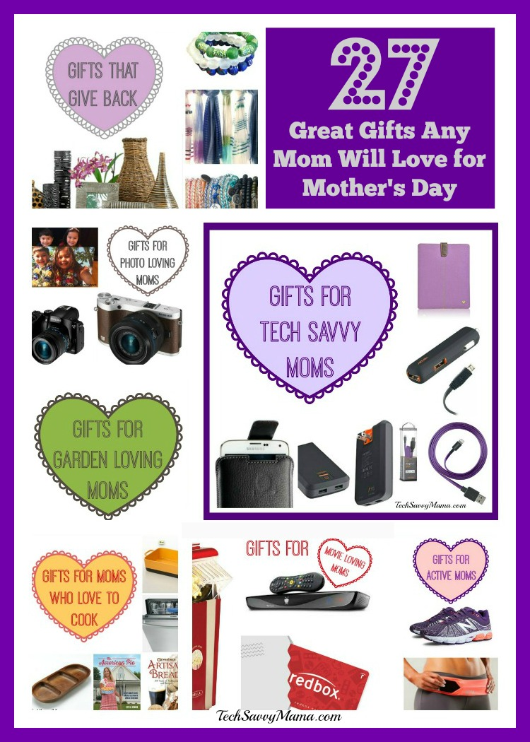 27 Great Gifts Any Mom Will Love for Mother\'s Day - Tech Savvy Mama