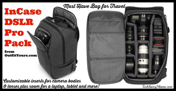 InCase DSLR Pro Pack from OutfitYours.com