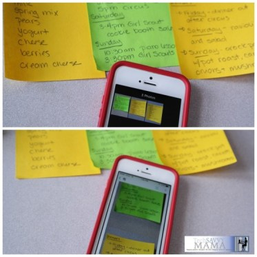 Capture and Save Single or Multiple Post-it Notes through Evernote