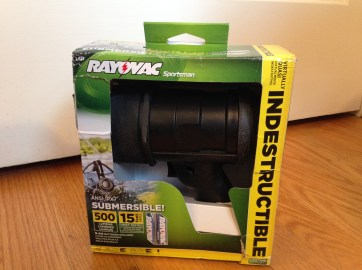 Rayovac Virtually Indestructible LED 6AA Spotlight