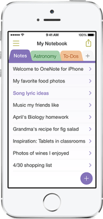 9 Things to Do to Become an Office Power User:  Organize OneNote Notebooks
